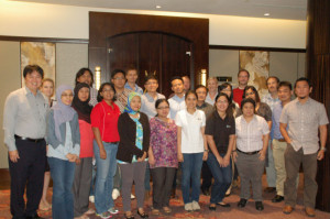 Oiled wildlife response planning course participants
